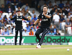 May 25, 2019 - London, England, United Kingdom - Trent Boult of New Zealand.during ICC World Cup - Warm - Up between India and New Zealand at the Oval Stadium , London,  on 25 May 2019.Credit Action Foto Spor  (Credit Image: © Action Foto Sport/NurPhoto via ZUMA Press)