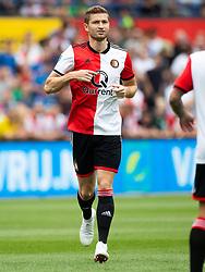 Jan-Arie van der Heijden of Feyenoord during the Pre-season Friendly match between Feyenoord Rotterdam and Levante UD at the Kuip on July 29, 2018 in Rotterdam, The Netherlands