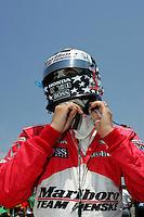 Sam Hornish Jr., Kansas Lottery Indy 300, Kansas Speedway, Kansas City, KS USA 7/2/2006