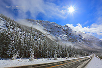 The Icefields Parkway, Banff National Park, Alberta, Canada