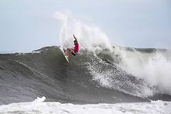 Jack Freestone of Australia advances to round three after placing first in round two heat 1 of the 2018 Hawaiian Pro at Haleiwa, Oahu, Hawaii, USA.