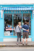 Padstow window shopping