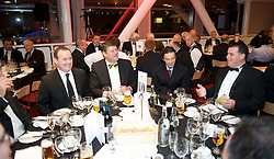 CARDIFF, WALES - Tuesday, October 7, 2008: Guests at the Brains Beer Wales Football Awards at the Millennium Stadium. (Photo by David Rawcliffe/Propaganda)