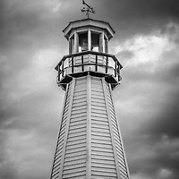 Photo of New Buffalo lighthouse in New Buffalo Michigan.