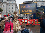 Piccadilly Circus.  1 December 2018