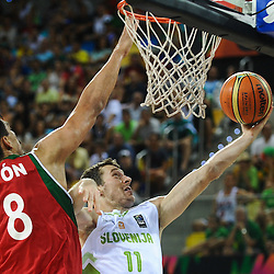 20140831: ESP, Basketball - 2014 FIBA World Championship, Slovenia vs Mexico