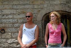 18-06-2006 VOLLEYBAL: CITY BEACH TOUR: GOUDA<br /> De finales van de City Beach! Tour stond dit weekend op de markt van Gouda / Boudewijn Maas<br /> ©2006-WWW.FOTOHOOGENDOORN.NL