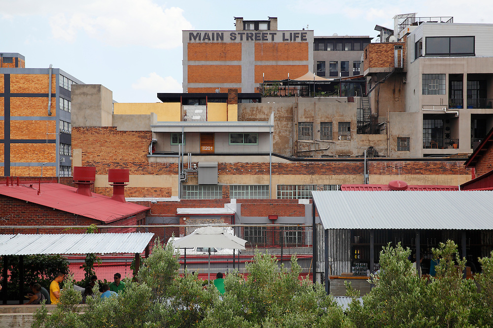 South Africa, Johannesburg, Maboneng Precinct, Arts on Main, Creative hub and redevelopment of the inner city.<br /> <br /> Photo: &copy; ZuteLightfoot
