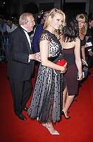 Bruce Forsyth, Tess Daly, Arqiva British Academy Television Awards - After Party, Grosvenor House, London UK, 18 May 2014, Photo by Brett D. Cove