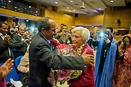 Roma 16 Novembre 2013<br />  Il  presidente della Repubblica araba Sahrawi Mohamed Abdelaziz, con Maria Rodano dell'ANSPS,  alla giornata conclusiva  del 38&deg; EUCOCO, conferenza Europea di Coordinamento dei Comitati di solidariet&agrave; con il popolo sahrawi,  alla  sede  della Regione Lazio  a Roma.<br /> Rome November 16, 2013<br />  The President of the Sahrawi Arab Republic Mohamed Abdelaziz with Maria Rodano  ANSPS, for the final day of the 38th EUCOCO, European Conference of Coordination Committees of solidarity with the Saharawi people, the headquarters  of   the Region of Lazio in Rome