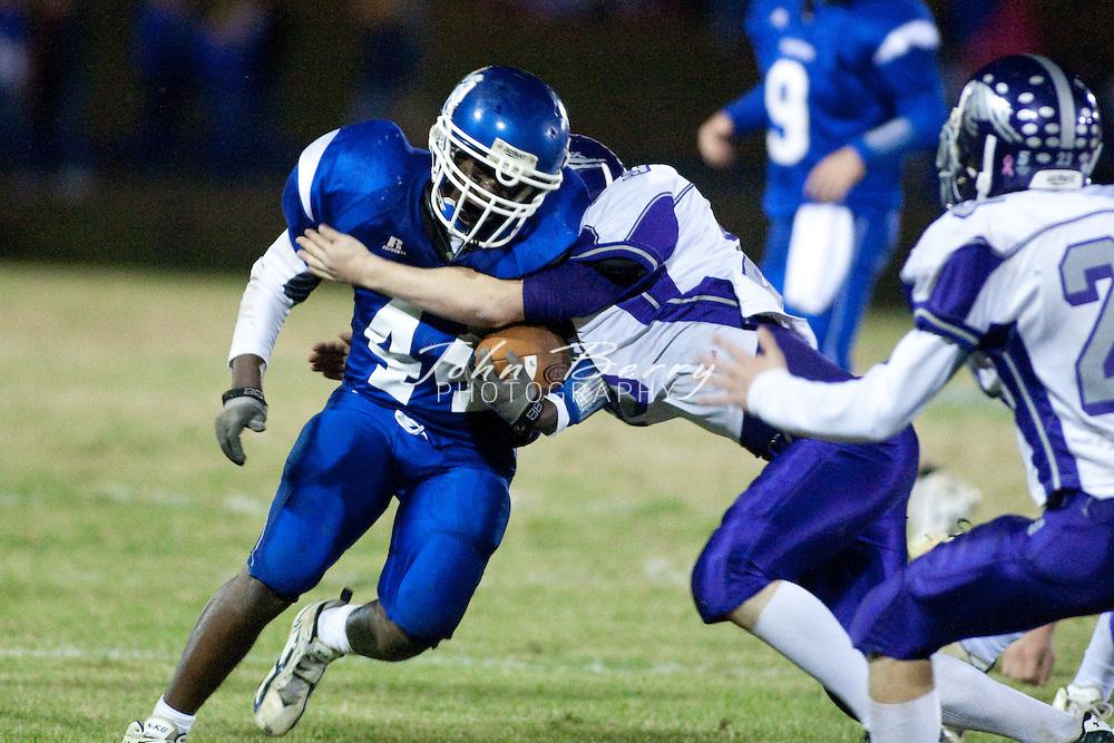 MCHS Varsity Football .vs Strasburg Rams .10/30/09