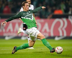 12.03.2011, Weserstadion, Bremen, GER, 1.FBL, Werder Bremen vs Borussia Moenchengladbach, im Bild Marko Arnautovic (Werder #07 )     EXPA Pictures © 2011, PhotoCredit: EXPA/ nph/  Kokenge       ****** out of GER / SWE / CRO  / BEL ******