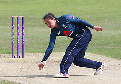 June 15, 2018 - Canterbury, England, United Kingdom - Georgia Elwiss of England Women.during Women's One Day International Series match between England Women against South Africa Women at The Spitfire Ground, St Lawrence, Canterbury, on 15 June 2018  (Credit Image: © Kieran Galvin/NurPhoto via ZUMA Press)