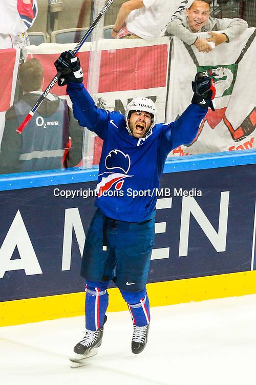 Joie Laurent Meunier - 05.05.2015 - Championnats du Monde de Hockey sur Glace 2015 -Prague<br /> Photo : Xavier Laine / Icon Sport *** Local Caption ***