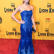 NLD/Scheveningen/20161030 - Premiere musical The Lion King, Soraya Gerrits
