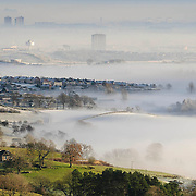Extreme Mist and freezing temperatures over Clydebank and the north west of Glasgow