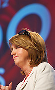 Joan Burton  at the Labour conference in the Bailey hall in NUIG. Photo:Andrew Downes
