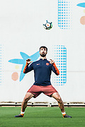 Andre Gomes from Portugal of FC Barcelona during the training sesion before the Spanish championship La Liga football match between FC Barcelona and Real Madrid on May 6, 2018 at Camp Nou stadium in Barcelona, Spain - Photo Xavier Bonilla / Spain ProSportsImages / DPPI / ProSportsImages / DPPI