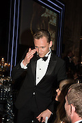 TOM HIDDLESTON, Luminous -Celebrating British Film and British Film Talent,  BFI gala dinner & auction. Guildhall. City of London. 6 October 2015.