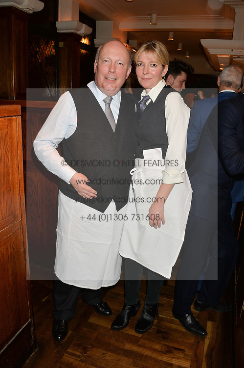JULIAN FELLOWES and JEMMA REDGRAVE at One Night Only at The Ivy in aid of Acting For Others supported by Tanqueray No.TEN Gin at The Ivy, 1-5 West Street, London on 1st December 2013.