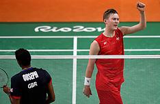 20160817 Rio 2016 Olympics - Badminton Viktor Axelsen kvartfinale