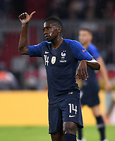 FUSSBALL UEFA Nations League in Muenchen Deutschland - Frankreich       06.09.2018 Blaise Matuidi (Frankreich) --- DFB regulations prohibit any use of photographs as image sequences and/or quasi-video. ---