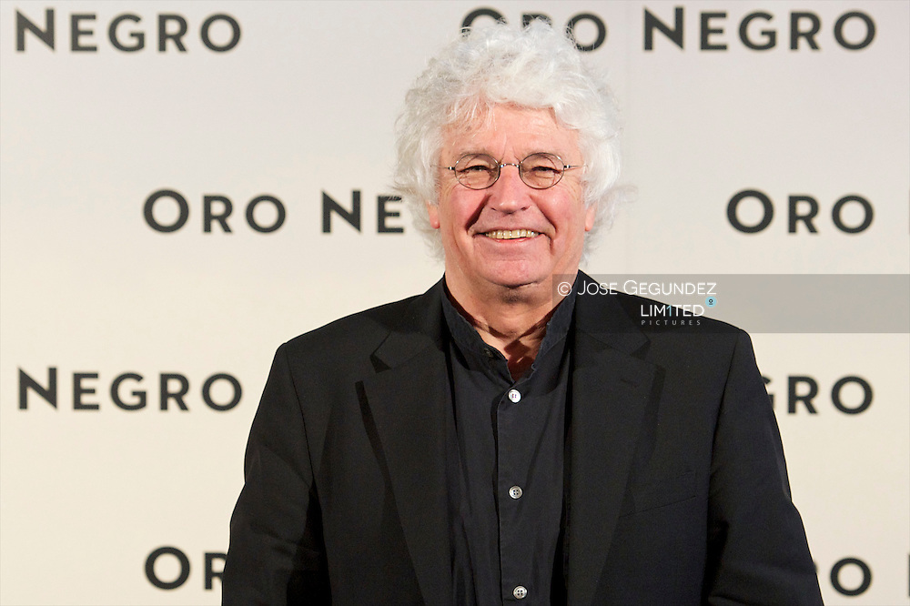 Director Jean-Jacques Annaud attends the 'Black Gold' photocall at Santo Mauro Hotel in Madrid