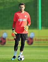 ARLAMOW, POLAND - MAY 31: Lukasz Fabianski during a training session of the Polish national team at Arlamow Hotel during the second phase of preparation for the 2018 FIFA World Cup Russia on May 31, 2018 in Arlamow, Poland. (MB Media)