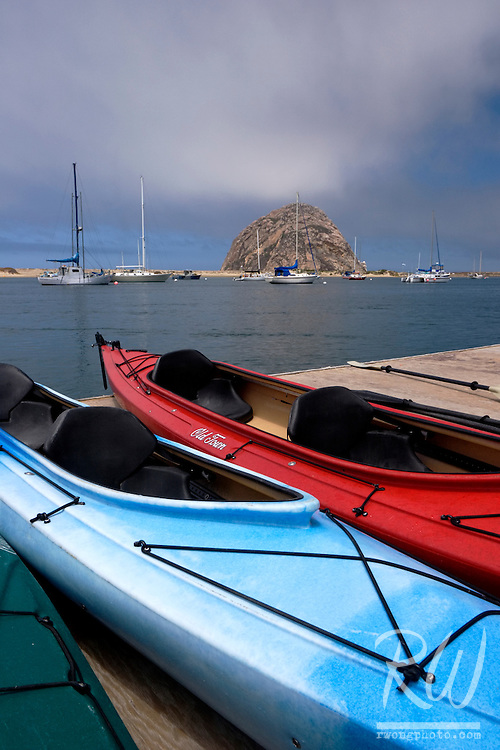 Kayaks, Morro Bay, California