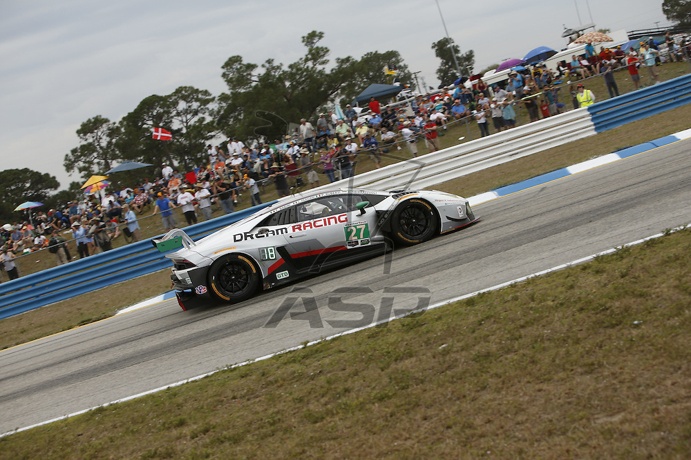 Sebring, FL - Mar 19, 2016:  The IMSA WeatherTech Sportscar Championship teams take to the track for the 64th Annual Mobil 1 Twelve Hours of Sebring at Sebring International Raceway in Sebring, FL.