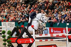 DASSLER Daniel (GER), Con Spirit<br /> Leipzig - Partner Pferd 2018   <br /> Internationale Zeitspringprüfung Preis des Stern Auto Center<br /> © www.sportfotos-lafrentz.de/Stefan Lafrentz