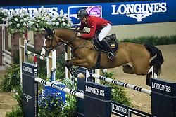 Schwizer Pius, (SUI), Toulago<br /> Longines FEI World Cup™ Jumping Final I<br /> Las Vegas 2015<br />  © Hippo Foto - Dirk Caremans<br /> 17/04/15