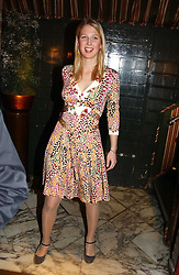 LADY GABRIELLA WINDSOR at a private dinner and presentation of Issa's Autumn-Winter 2005-2006 collection held at Annabel's, 44 Berkeley Square, London on 15th March 2005.<br /><br />NON EXCLUSIVE - WORLD RIGHTS