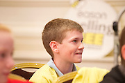 James Clancy Ardvarney National School Dromahair Co Leitrim . ,  at the Eason Spelling Bee in the Hotel Meyrick, Galway from where Ryan Tubridy's show was broadcast . Photo:Andrew Downes..