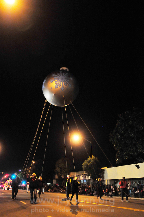 Thousands of holiday fans turned out to celebrate the opening of the holiday season with Sunday night's thirteenth annual Holiday Parade of Lights along Main Street in Salinas.