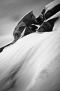 Sculptures emerging on a glacier in the Swiss alps<br /> See more: http://tinyurl.com/glacier-sculptures