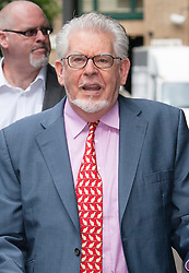 London, June 23rd 2014. Entertainer and artist Rolf Harris arrives at Southwark Crown Court where he is awaiting the jury's verdict on the 12 charges of indecent assault against 4 girls aged 7 to 19 that he faces.