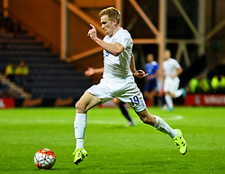 Duncan Watmore of England U21 attacks - Mandatory byline: Matt McNulty/JMP - 07966386802 - 03/09/2015 - FOOTBALL - Deepdale Stadium -Preston,England - England U21 v USA U23 - U21 International
