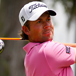 Apr 27, 2012; Avondale, LA, USA; Webb Simpson on the 2nd hole during the second round of the Zurich Classic of New Orleans at TPC Louisiana. Mandatory Credit: Derick E. Hingle-US PRESSWIRE
