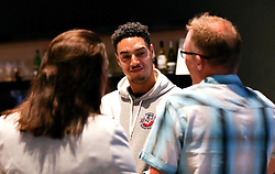 Roy Owen of Bristol Flyers chats with guests- Mandatory by-line: Robbie Stephenson/JMP - 12/09/2016 - BASKETBALL - Ashton Gate Stadium - Bristol, England - Bristol Flyers Sponsors Event