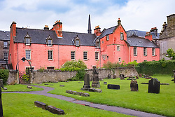 Abbot House heritage centre in Dunfermline , Fife, Scotland.