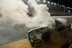 Motorsports / Formula 1: World Championship 2010, GP of Singapore, 19 Heikki Kovalainen (FIN, Lotus F1 Racing),