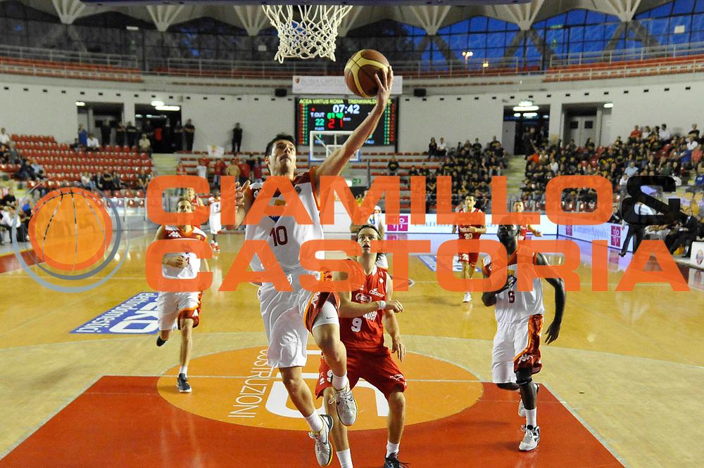 DESCRIZIONE : Roma Lega A 2012-13 Acea Roma Trenkwalder Reggio Emilia<br /> GIOCATORE : Lorenzo D'Ercole<br /> CATEGORIA : tiro<br /> SQUADRA : Acea Roma<br /> EVENTO : Campionato Lega A 2012-2013 <br /> GARA : Acea Roma Trenkwalder Reggio Emilia<br /> DATA : 14/10/2012<br /> SPORT : Pallacanestro <br /> AUTORE : Agenzia Ciamillo-Castoria/GiulioCiamillo<br /> Galleria : Lega Basket A 2012-2013  <br /> Fotonotizia : Roma Lega A 2012-13 Acea Roma Trenkwalder Reggio Emilia<br /> Predefinita :