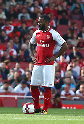 July 30, 2017 - London, England, United Kingdom - Arsenal's Alexandre Lacazette..during Emirates Cup match between Arsenal  against Savilla FC   at The Emirates Stadium in north London on July 30, 2017, the game is one of four matches played over two days for the Emirates Cup. (Credit Image: © Kieran Galvin/NurPhoto via ZUMA Press)