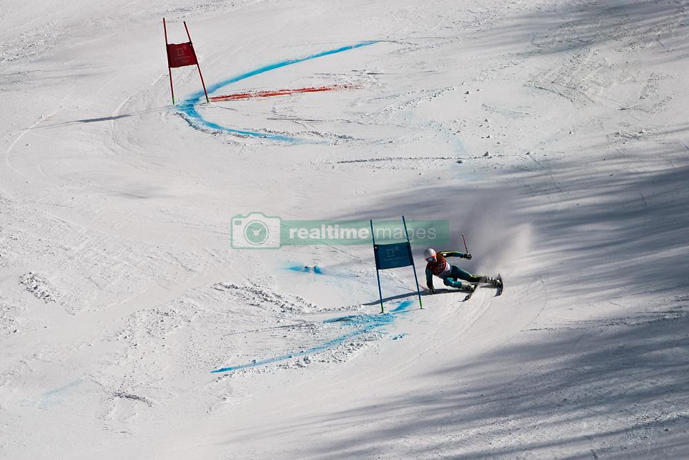 February 18, 2018 - Pyeongchang, SOUTH KOREA - 180218 Matts Olsson of Sweden competes in Alpine Skiing Men's Giant Slalom during day nine of the 2018 Winter Olympics on February 18, 2018 in Pyeongchang..Photo: Joel Marklund / BILDBYRÃ…N / kod JM / 87633 (Credit Image: © Joel Marklund/Bildbyran via ZUMA Press)