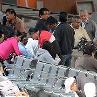 TOLUCA, Mexico.- La central camionera de Toluca, registro movimiento este domingo, ya que la gente llega y sala a visitar a sus familiares para pasar  el nuevo año juntos. Agencia MVT. José Hernández.