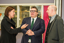 Pictured: Alex McGowan, Executive Director of the Lyecum, Kezia Dugdale and Tom Watson<br /> Scottish Labour leader Kezia Dugdale, MSP,  and Tom Watson, MP deputy leader of the Labour Party, visited Edinburgh's Royal Lyceum Theatre today.<br /> <br /> Ger Harley | EEm 27 March 2017