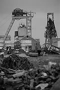 Sharlston Colliery. British Coal North Yorkshire Area. 06.02.1992.