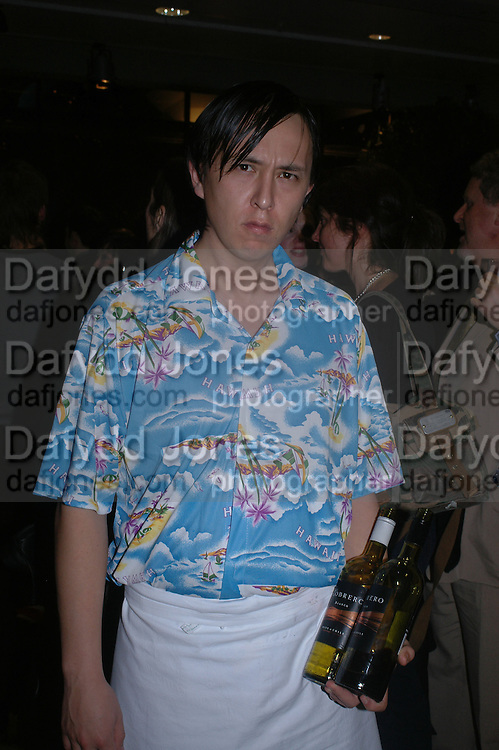 """HAYDON KWAN, World Premiere of the theatrical production of """"Edward Scissorhands"""" at Sadler's Wells Theatre in London. 30 November 2005. ONE TIME USE ONLY - DO NOT ARCHIVE  © Copyright Photograph by Dafydd Jones 66 Stockwell Park Rd. London SW9 0DA Tel 020 7733 0108 www.dafjones.com"""