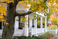 Historic homes and buildings of Woodstock Vermont USA